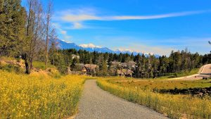 Invermere BC Biking path